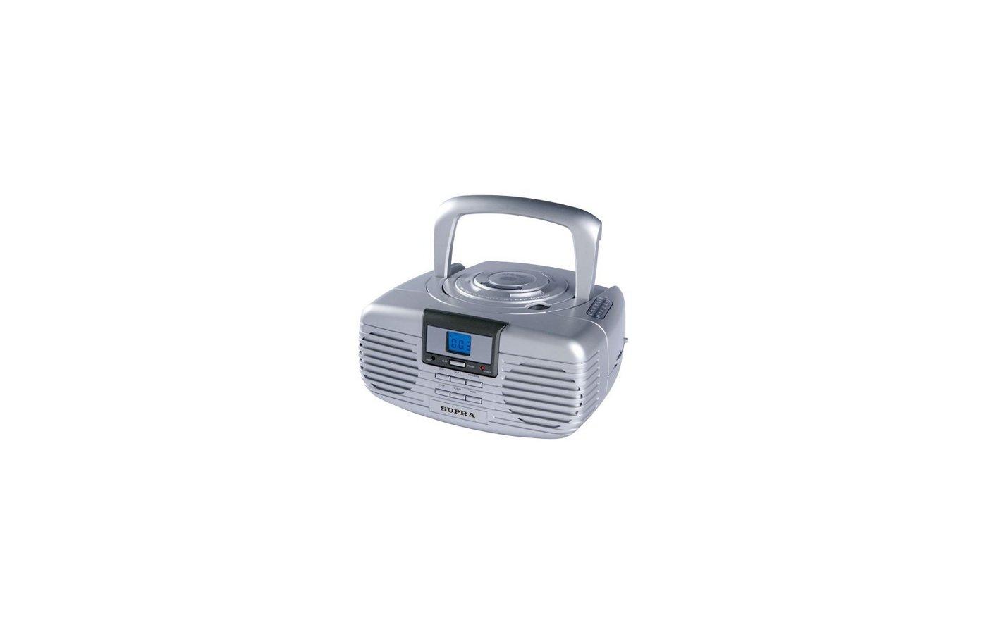 Магнитола SUPRA BB-CD101 silver