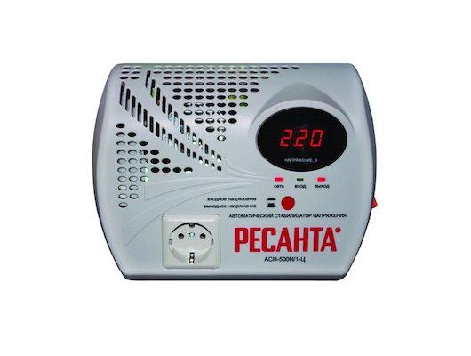 Стабилизатор напряжения РЕСАНТА АСН-500 Н/1-Ц