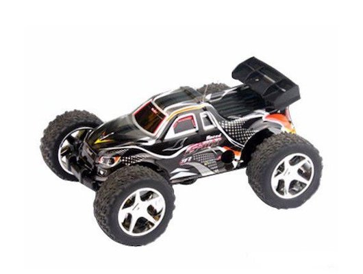 Игрушка WL Toys 2019 Автомобиль для трюков черный