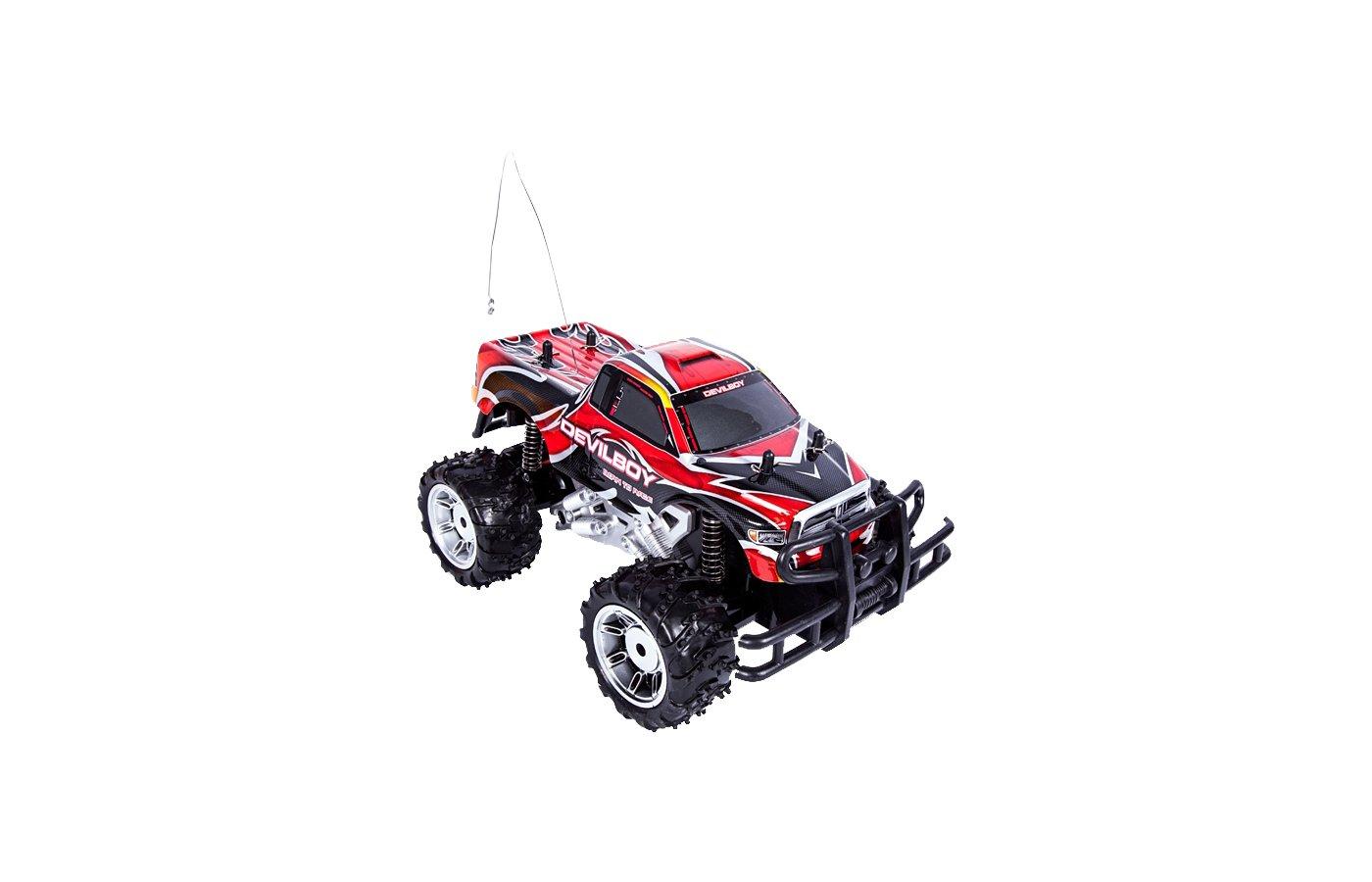 Игрушка MioshiTech MTE1201-007К Р/У Джип красный