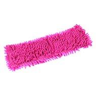Инвентарь для уборки РЫЖИЙ КОТ MopM4-H Насадка для швабры из микрофибры Лапша (с карманами) размер: 14х44см