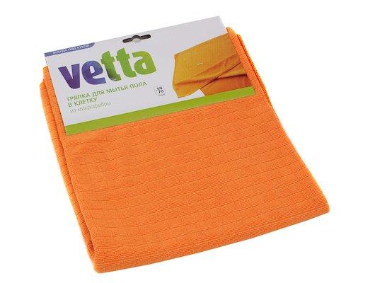 Инвентарь для уборки VETTA 448-021 тряпка для пола из микрофибры в клетку