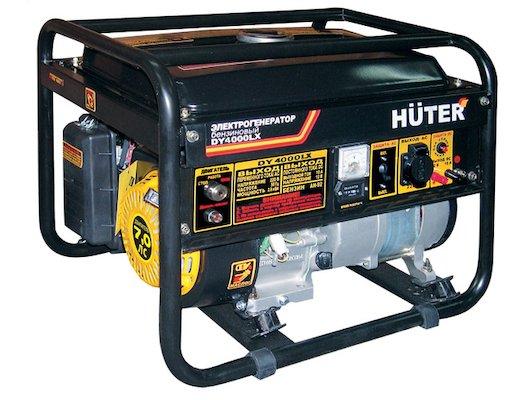 Генератор Huter DY4000LX-электростартер