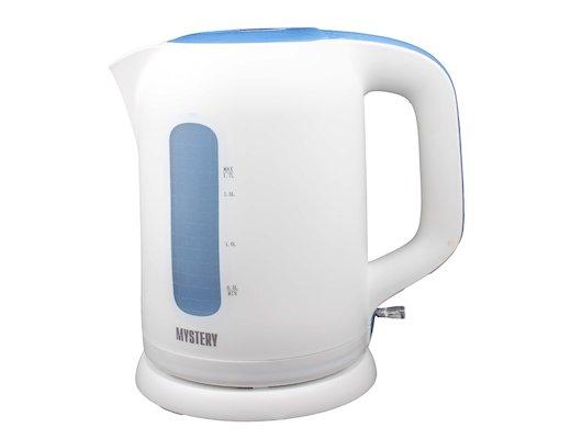 Чайник электрический  MYSTERY MEK-1620 white/blue