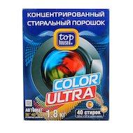 Средства для стирки и от накипи TOP HOUSE 104450/392265 Конц. суперэффективный стиральный порошок Color Ultra 1.8кг