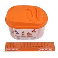 Фото контейнеры для продуктов Plastic Centre ПЦ3610 Банка для сыпучих продуктов Optima 0.8л