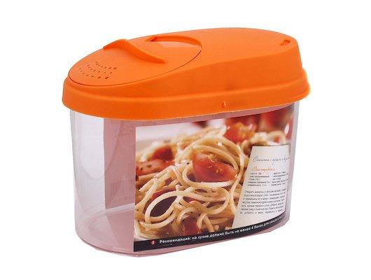 контейнеры для продуктов Plastic Centre ПЦ3610 Банка для сыпучих продуктов Optima 0.8л