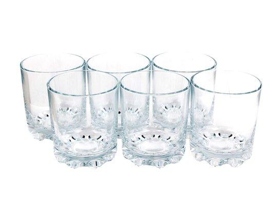 Посуда для напитков PASABAHCE 52442B Набор стаканов KARAMAN 6шт 200мл