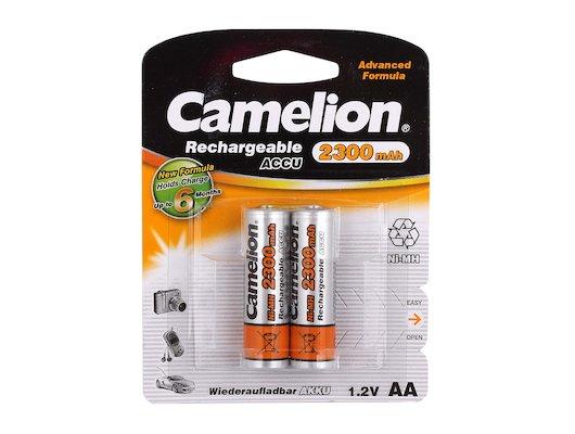 Аккумулятор Camelion AA 2300mAh Ni-Mh 2шт.