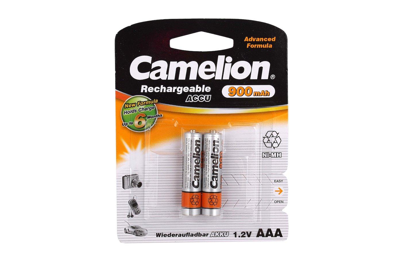 Аккумулятор Camelion AAA 900mAh Ni-Mh 2шт.