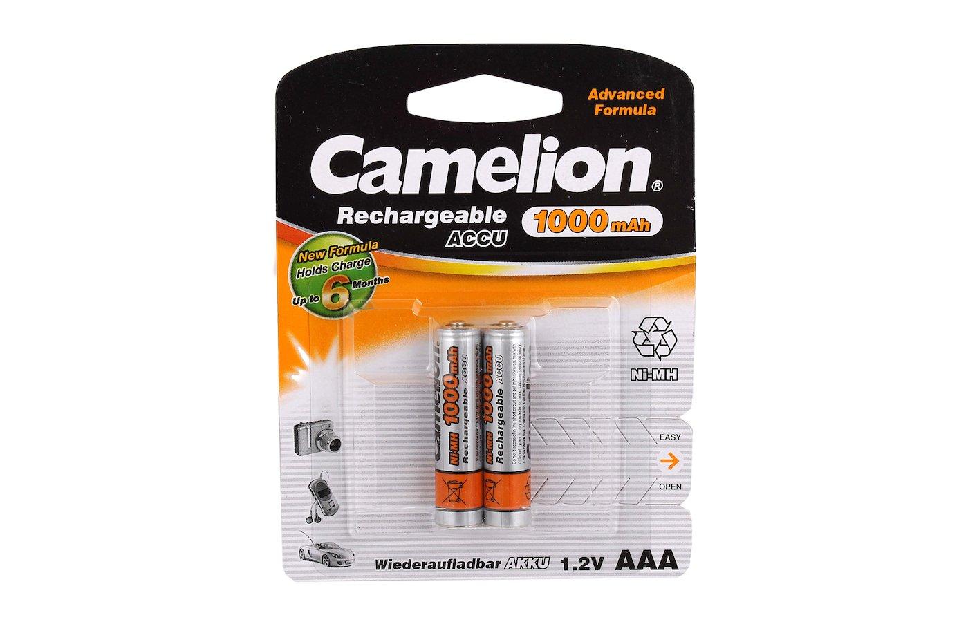 Аккумулятор Camelion AAA 1000mAh Ni-Mh 2шт.