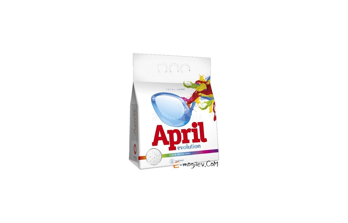 Средства для стирки и от накипи APRIL Evolution Автомат Color Protection п/п 3 кг (3628)
