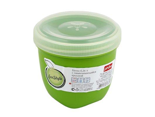 Пластиковая посуда для СВЧ БЫТПЛАСТ 15464/11761 Контейнер Eco style 0.26л