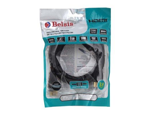 Кабель BELSIS BW 3306 HDMI(m) - HDMI(m) 2м. ver.1.4