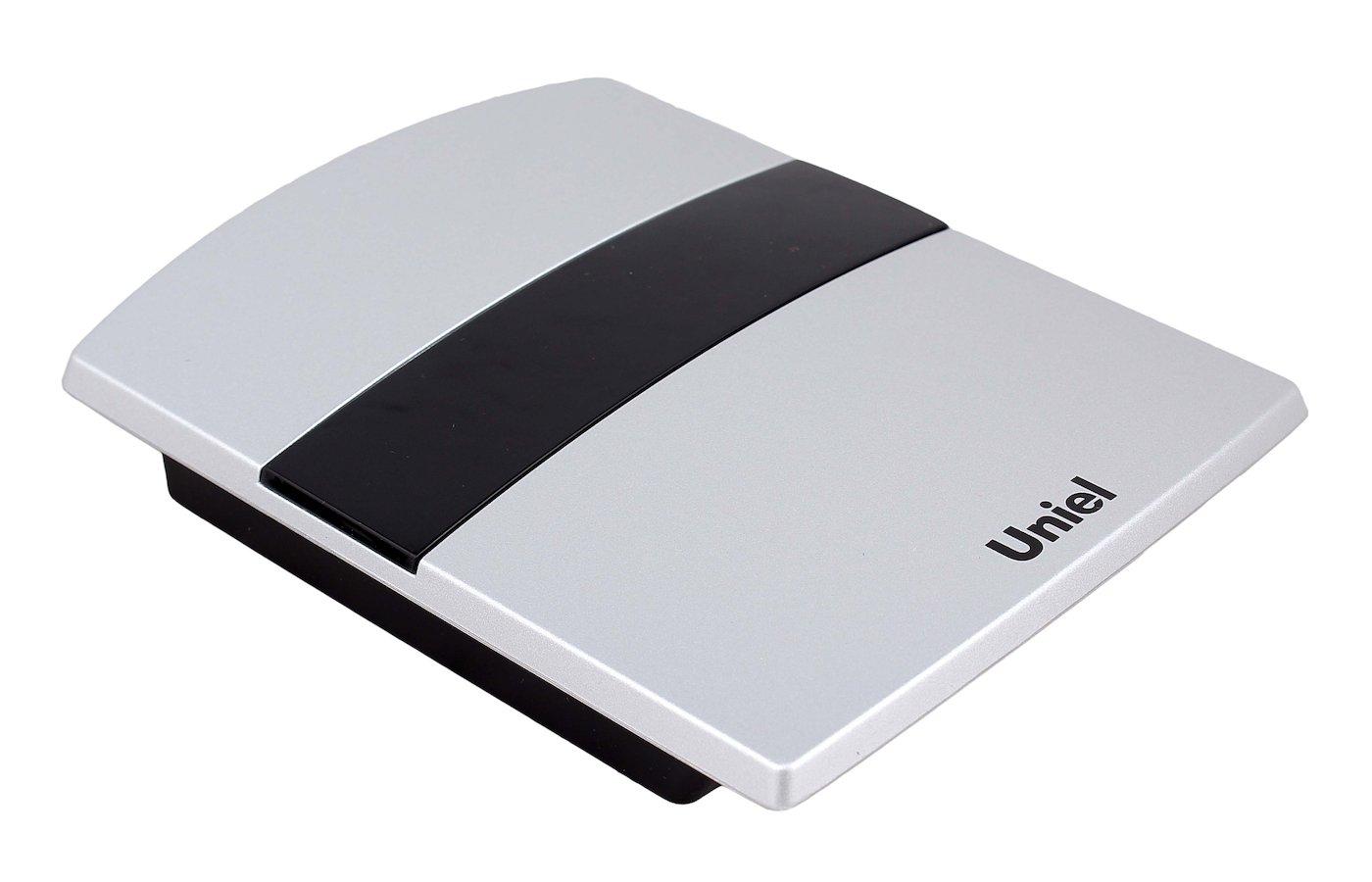 Дверной звонок UNIEL UDB-001W-R1T1-32S-SL