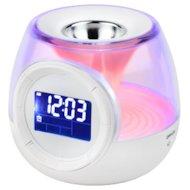 Фото Настольные часы ЭРА 635162 W-UP-E5 Часы - светильник