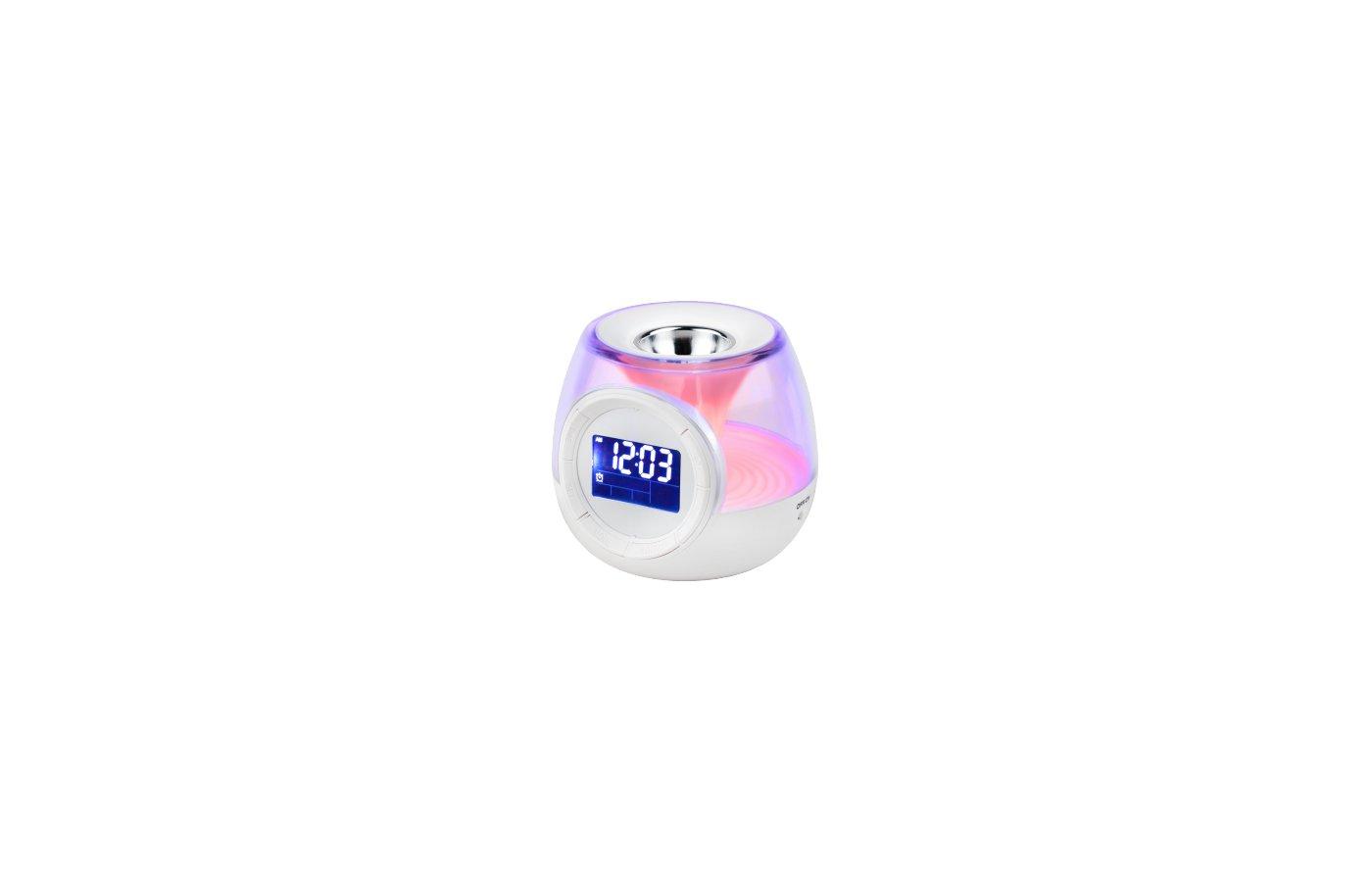Настольные часы ЭРА 635162 W-UP-E5 Часы - светильник