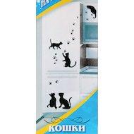 Фото Аксессуар к холодильникам TOPPERR 7008 Декоративная наклейка для холодильников Кошки