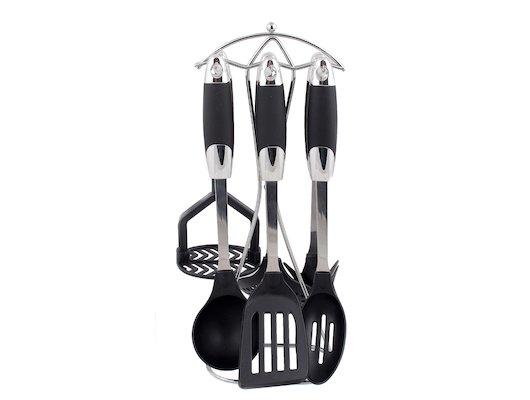 Набор кухонных принадлежностей Mayer Boch 22630 Набор 7пр на подставке