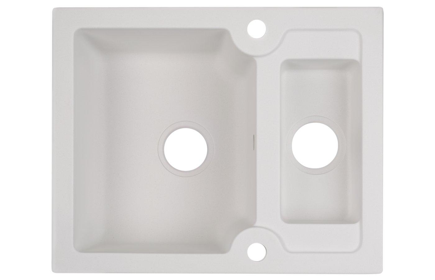 Кухонная мойка Kuppersberg MODENA 1,5B WHITE