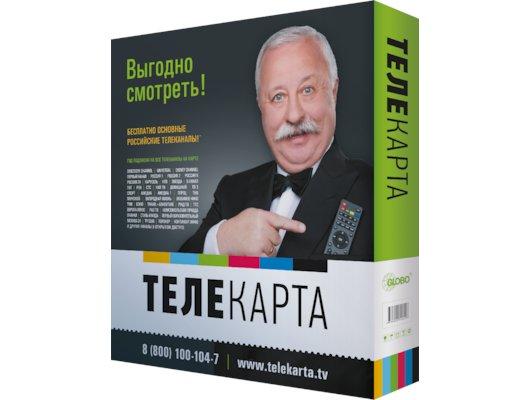 Спутниковое ТВ ТЕЛЕКАРТА 08