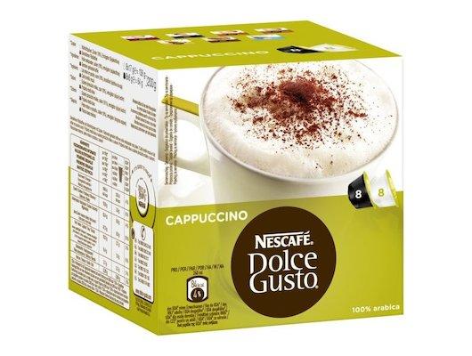 капсулы для кофеварок Nescafe Dolce Gusto Капучино