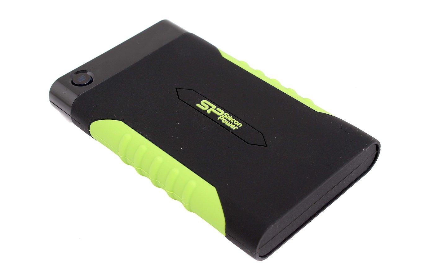 Внешний жесткий диск Silicon Power SP500GBPHDA15S3K USB 3.0 500Gb 2.5 черный Armor A15