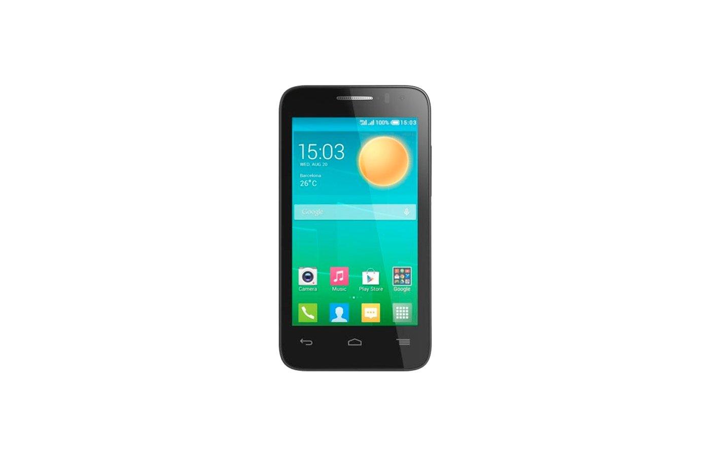 Смартфон Alcatel 4035D (POP D3) BlackFashionBlue