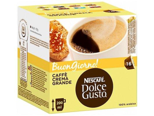 капсулы для кофеварок Nescafe Dolce Gusto Гранд Кафе Крем