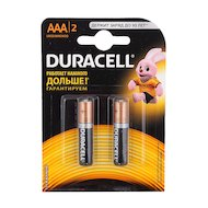 Батарейка Duracell Basic AAА 2шт. LR03/2BL