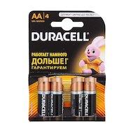 Батарейка Duracell Basic AA 4шт. LR6/4BL