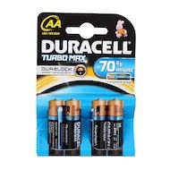 Фото Батарейка Duracell TurboMax AA 4шт. LR6/4BL