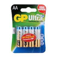 Фото Батарейка GP Ultra Plus AA 4шт. LR6/4BL (15AUP-2CR4)