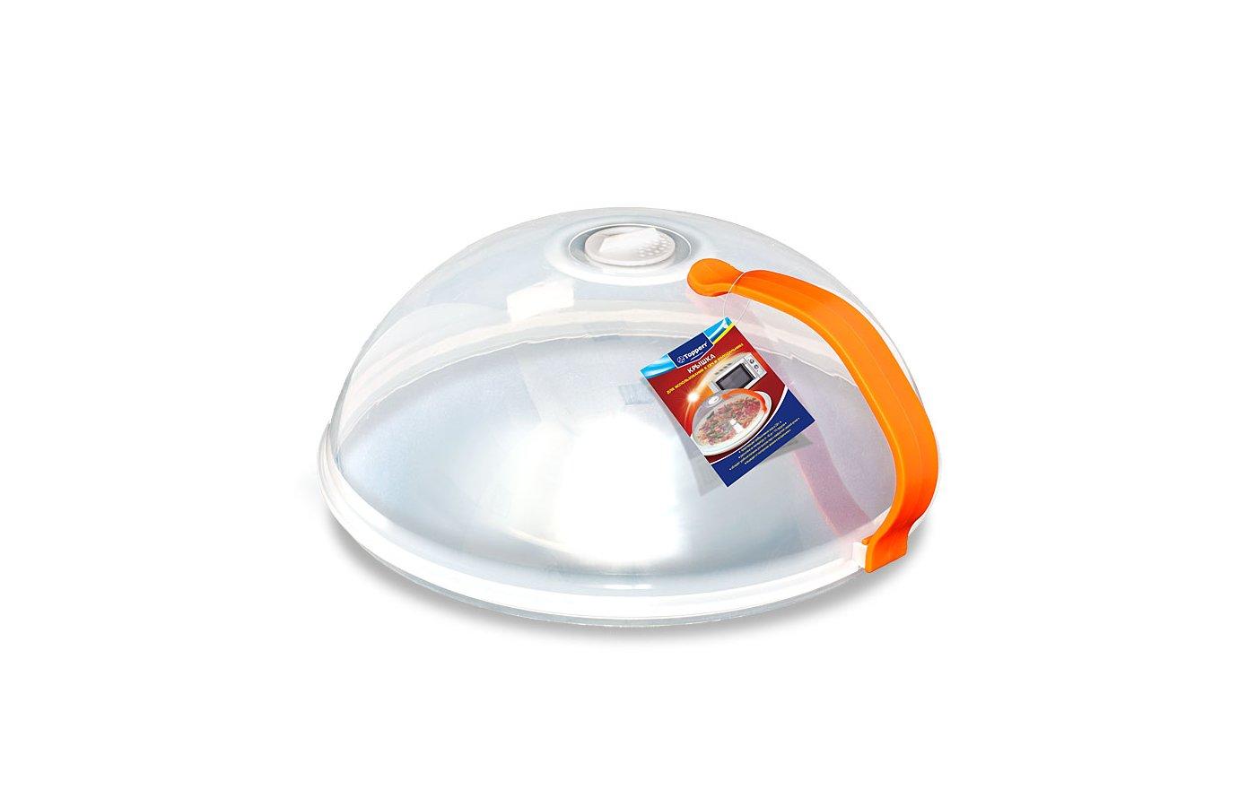 Пластиковая посуда для СВЧ TOPPERR 3428 Крышка для СВЧ с ручкой