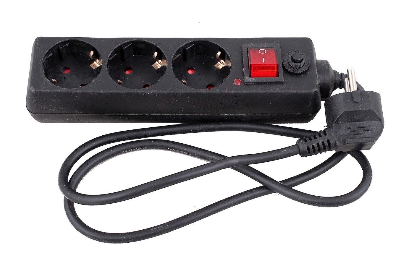 Сетевой фильтр DOFFLER SP 4013-1B 3роз./1м.