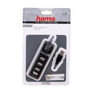 Разветвитель USB 2.0 Hama H-54590 концентратор 4 порт.