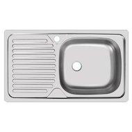 Кухонная мойка UKINOX 101/CLM760.435-GT5K 1R Классика матовая 3.5