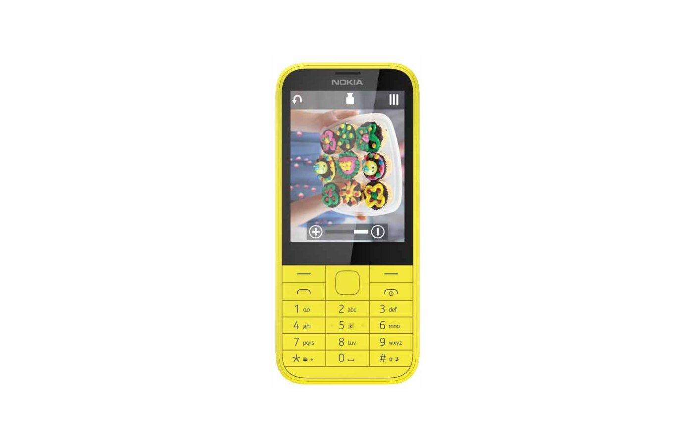 Мобильный телефон Nokia 225 DS yellow