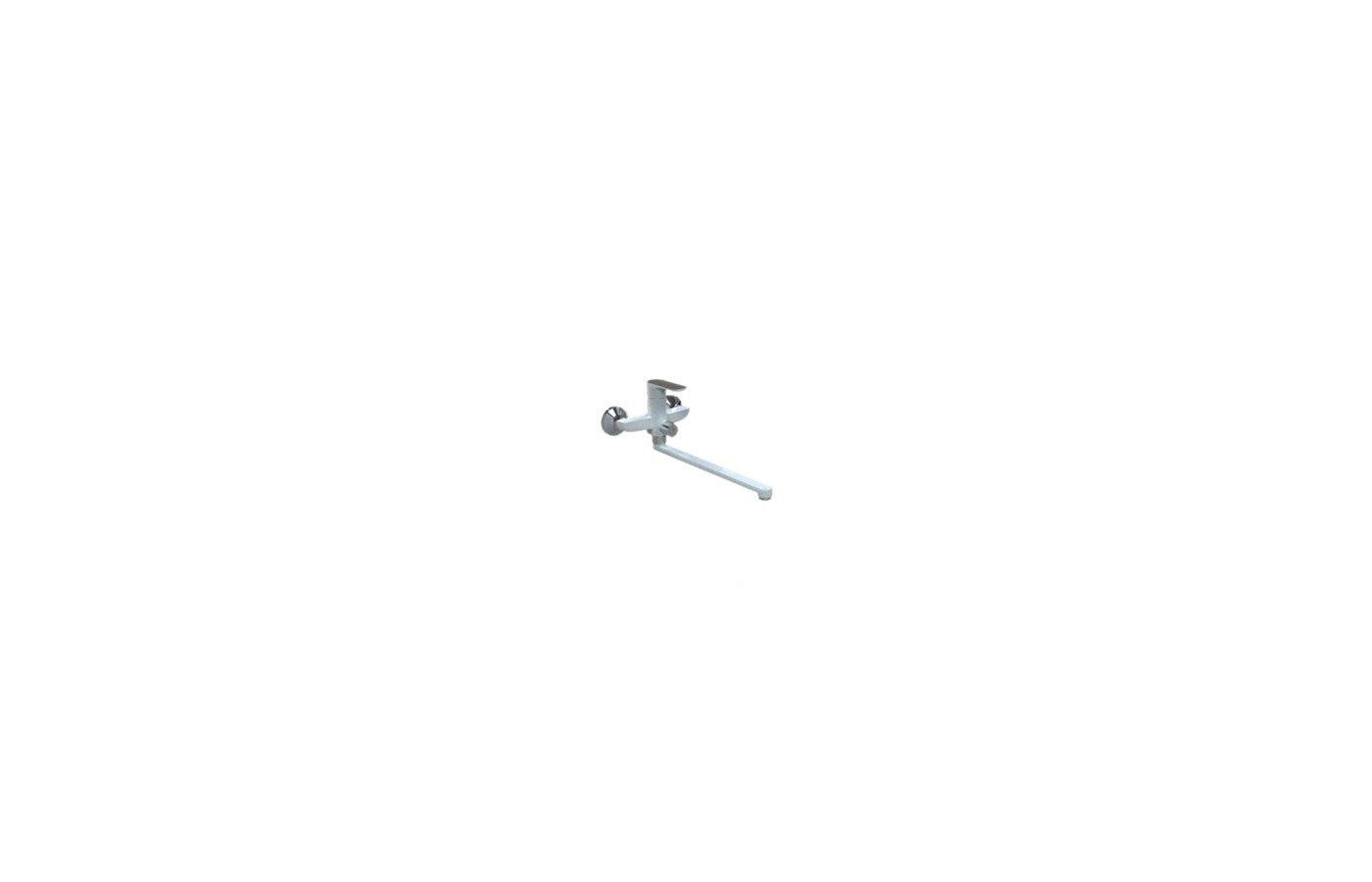 Смеситель FRAP G2248 Смеситель для ванны ХРОМ/БЕЛЫЙ