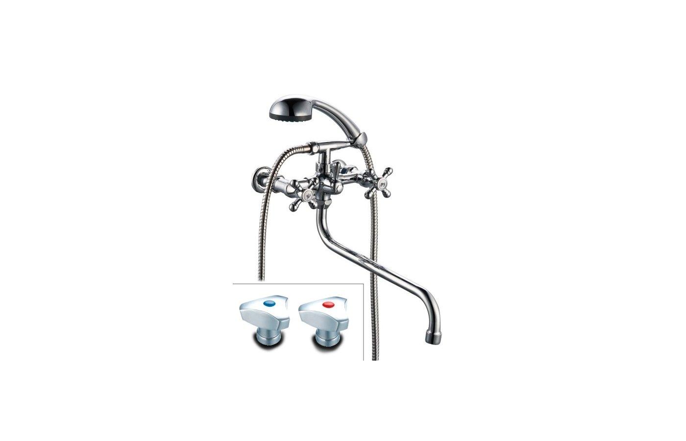 Смеситель ProfSan 165-К80 Смеситель для ванны 1/2
