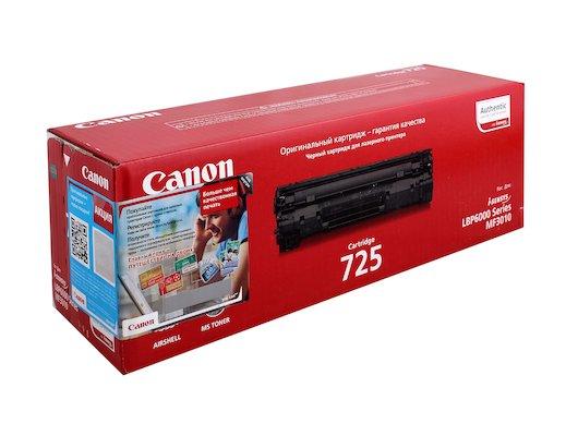 Картридж лазерный Картридж Canon 725 3484B005 (нов. упаковка)