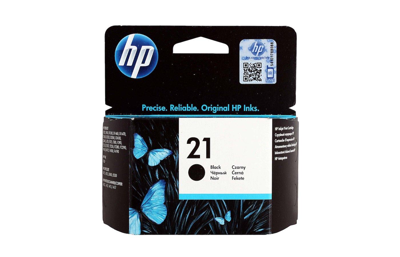 Картридж струйный HP С9351AE 21 Черный PSC 1410 Deskjet 3920/3940 (C9351AE ORIG)