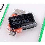 Фото Флеш-диск USB 2.0 QUMO 32GB Hybrid MicroUSB