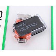 Фото Флеш-диск USB 2.0 QUMO 16GB Hybrid MicroUSB
