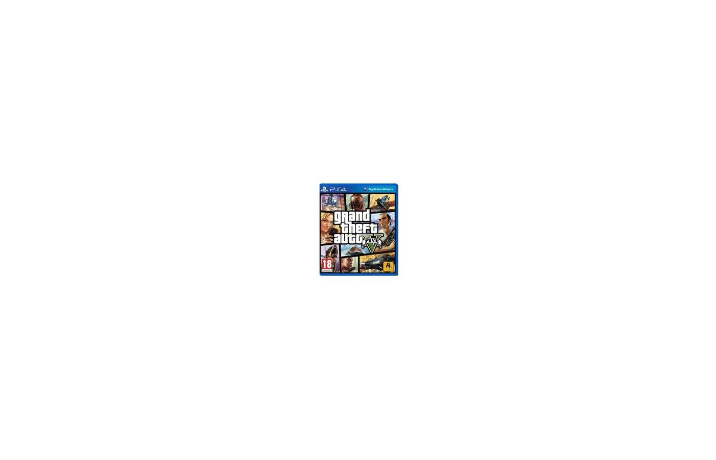 Grand Theft Auto V (PS4 русские субтитры)