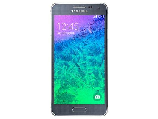 Смартфон Samsung SM-G850 Galaxy Alpha black