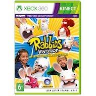 Фото Rabbids Invasion (только для MS Kinect) (Xbox 360 русская версия)