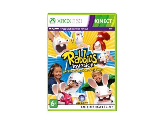 Rabbids Invasion (только для MS Kinect) (Xbox 360 русская версия)