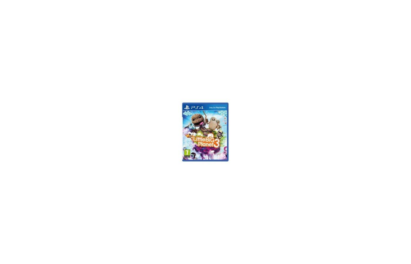LittleBigPlanet 3 (PS4 русская версия)