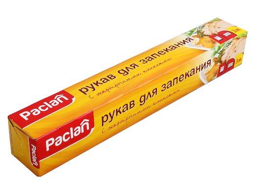 Бытовая упаковка PACLAN рукав д/запек. 3х30см. (16331/2242)